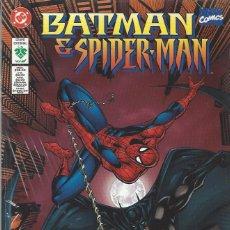 Cómics: BATMAN / SPIDERMAN - EDITORIAL VID - TOMO HISTORIA COMPLETA - PERFECTO ESTADO, CON EL PLASTICO. Lote 277012648