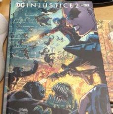 Cómics: INJUSTICE 2 VOLUMEN 2 VV.AA. ECC AÑO 2021 COMO NUEVO TAPA DURA. Lote 277015128