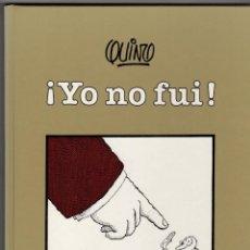 Cómics: YO NO FUI. QUINO. IMAGEN 23. EDITORIAL LUMEN. 1993. 1ª EDICION. Lote 277023228