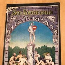 Cómics: SAN REPRIMONIO Y LAS PIRAÑAS. HISTORIETAS DEL NAZARIO. ROCK COMIX. 1976. Lote 277028078