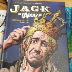Cómics: JACK DE FÁBULAS EDICIÓN DE LUJO LIBRO UNO VV.AA. ECC AÑO 2018 COMO NUEVO. Lote 277042128