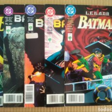 Cómics: LOTE BATMAN LEGADO: PARTES 3-4-5-6-7/N°260-261-262-263-264 (GRUPO EDITORIAL VID, 1998).. Lote 277056088