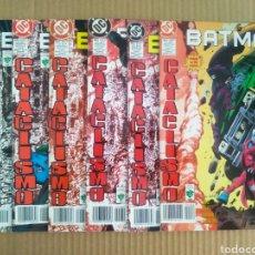 Cómics: LOTE BATMAN CATACLISMO: PARTES 6-7-9-11-12-13/N°279-280-282-284-285-286 (GRUPO EDITORIAL VID, 1999).. Lote 277056203