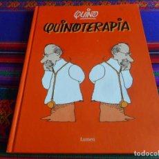 Cómics: QUINOTERAPIA DE QUINO. LUMEN. IMAGEN 16. TAPAS DURAS. BUEN ESTADO.. Lote 277061183