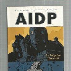 Cómics: AIDP LA MAQUINA UNIVERSAL. Lote 277075778