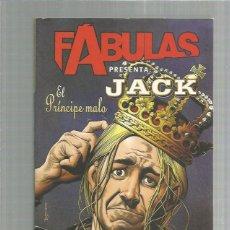 Cómics: FABULAS JACK EL PRINCIPE MALO. Lote 277076348