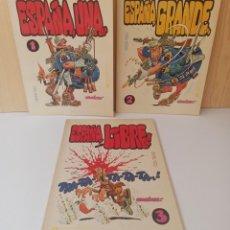 Cómics: ESPAÑA, UNA - ESPAÑA, GRANDE - ESPAÑA, LIBRE - GIMÉNEZ - 1, 2 Y 3 - E.DE LA TORRE - 1ª EDICIÓN 1978. Lote 277089188