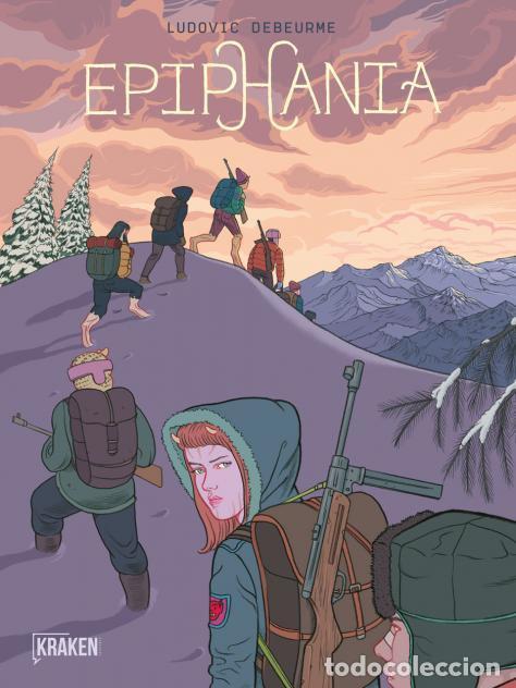 CÓMICS. EPIPHANIA VOL 2 - LUDOVIC DEBEURME (CARTONÉ) (Tebeos y Comics - Comics otras Editoriales Actuales)
