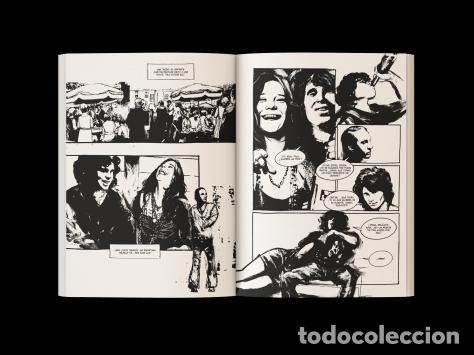 Cómics: Cómics. JIM MORRISON. El poeta del caos - Frédéric Bertocchini/Jef (Cartoné) AGOTADO EN LA EDITORIAL - Foto 3 - 277090958