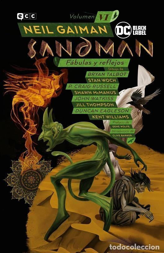 BIBLIOTECA SANDMAN 6 : FÁBULAS Y REFLEJOS - ECC / DC BLACK LABEL / TAPA DURA (Tebeos y Comics - Comics otras Editoriales Actuales)