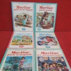 Cómics: TEBEOS O COMICS ANTIGUOS DE MARTINE EDICIONES FARANDOLE EN FRANCES LOTE 6 UDS.. Lote 277137328
