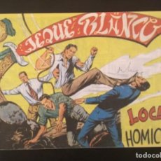 Cómics: CÓMIC JEQUE BLANCO EDITORIAL ROLLAN ORIGINAL AÑOS 50 LOCURA HOMICIDA NÚMERO 43. Lote 277138953