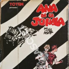 Cómics: ANA DE LA JUNGLA - COLECION TOTEM - AÑO 1979 - HUGO PRAT. Lote 277139648