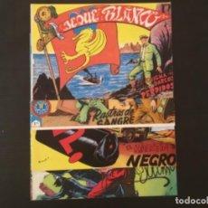 Cómics: CÓMIC JEQUE BLANCO EDITORIAL ROLLAN ORIGINAL AÑOS 50 LOTE 4 NÚMEROS 57,107,115,124. Lote 277139813
