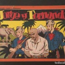 Cómics: CÓMIC JORGE FERNANDO ORIGINAL ÁLBUM ROJO 25 CM X 17 CM NÚMERO 6. Lote 277178038