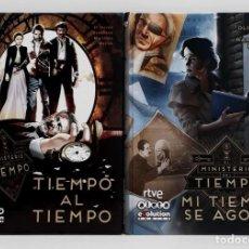 Cómics: EL MINISTERIO DEL TIEMPO 1 Y 2 (ALETA EVOLUTION CÓMICS, 2017-2018). Lote 277181688
