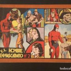 Cómics: CÓMIC EL HOMBRE ENMASCARADO NÚMERO 2 32 CM X 21,5 CM TAMAÑO GRANDE ORIGINAL ÁLBUM ROJO. Lote 277182193
