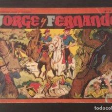 Cómics: CÓMIC JORGE Y FERNANDO NÚMERO 7 32 CM X 21,5 CM TAMAÑO GRANDE ORIGINAL ÁLBUM ROJO. Lote 277182958