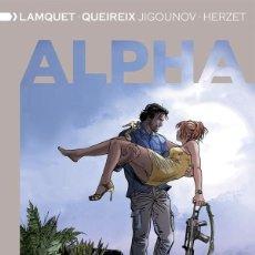 Cómics: ALPHA INTEGRAL 5 JIGOUNOV / HERZET / LAMQUET / QUEIREIX DOLMEN. Lote 277183383