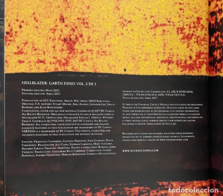 Cómics: HELLBLAZER, JOHN CONSTANTINE, GARTH ENNIS, 1,2 Y 3 COMPLETA (DC VÉRTIGO) - Foto 12 - 277183953