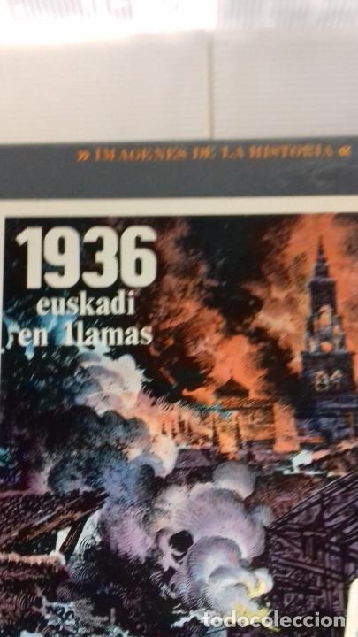 Cómics: 1936 EUSKADI EN LLAMAS DE PALACIOS COMIC - Foto 2 - 277183993