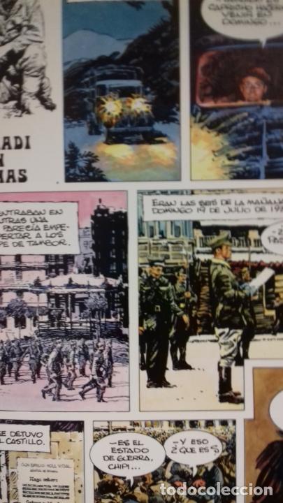 Cómics: 1936 EUSKADI EN LLAMAS DE PALACIOS COMIC - Foto 3 - 277183993