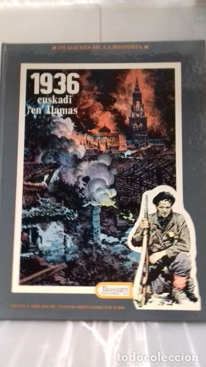 1936 EUSKADI EN LLAMAS DE PALACIOS COMIC (Tebeos y Comics Pendientes de Clasificar)