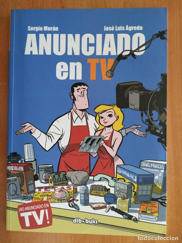 ANUNCIADO EN TV. SERGIO MORÁN. JOSE LUIS AGREDA. DIBBUKS. (Tebeos y Comics - Comics otras Editoriales Actuales)