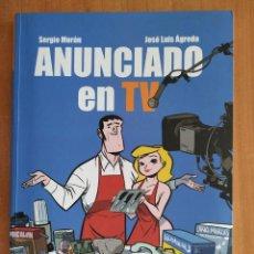 Cómics: ANUNCIADO EN TV. SERGIO MORÁN. JOSE LUIS AGREDA. DIBBUKS.. Lote 277187128