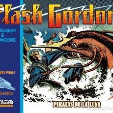 Cómics: FLASH GORDON 9 SUNDAY PAGES 1951-1954 PIRATAS DE LA LUNA MAC RABOY / DON MOORE DOLMEN. Lote 277188598