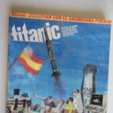 Comics: RETAPADO TITANIC Nº 8 10 10 Y CACHONDEO A TOPE MADE IN USA EL JUEVES 1984 REVISTA DE HUMOR ARX7. Lote 277232343