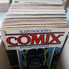Cómics: ILUSTRACIÓN + COMIX INTERNACIONAL LOTE DE 33 NÚMEROS - TOUTAIN EDITOR. Lote 277237483