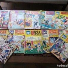 Cómics: LOTE DE 14 COMICS COLECCION OLE , VER DESCRIPCION. Lote 277249493