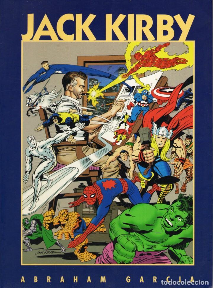 COL. NEXUS JACK KIRBY, REY DE LA EPOPEYA GRAFICA (ABRAHAM GARCIA) ED. GLOBAL - BUEN ESTADO (Tebeos y Comics Pendientes de Clasificar)
