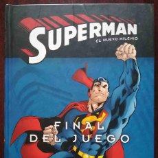 Cómics: SUPERMAN. EL NUEVO MILENIO. FINAL DEL JUEGO. ECC / DC - TAPA DURA.. Lote 277305028