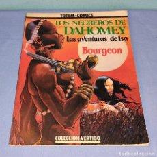 Cómics: LOS NEGREROS DE DAHOMEY TOTEM COMICS COLECCION VERTIGO EN MUY BUEN ESTADO. Lote 277682903
