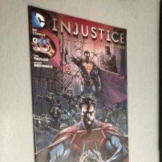 Cómics: INJUSTICE Nº 14 GODS AMONG US AÑO DOS / TOM TAYLOR - BRUNO REDONDO / DC - ECC. Lote 277690618