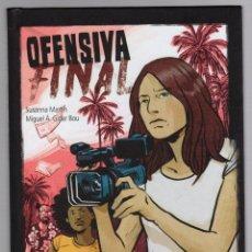 Comics : OFENSIVA FINAL. SUSANNA MARTIN - MIGUEL A. GINER BOU. DOLMEN EDITORIAL, 2020. Lote 277724218