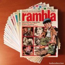Cómics: RAMBLA DISTRINOVEL GARCÍA Y BEÁ EDITORES S. A LOTE DE 21 Nº.. Lote 277738348