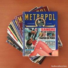 Cómics: METROPOL EDICIONES METROPOL COMPLETA 12 Nº.. Lote 277738948