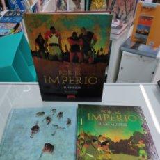 Cómics: POR EL IMPERIO TOMOS 1 2 3 OBRA COMPLETA - VIVES Y MERWAN - DIÁBOLO 2010. Lote 277751983