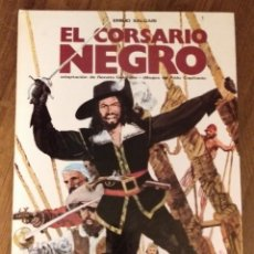 Cómics: EL CORSARIO NEGRO. EMILIO SALGARI. POR GELARDINI Y CAPITANIO. EDICIONES PAULINAS. 1981. Lote 277822053