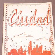 Cómics: BARCELONA CIUDAD, EL T.V.O. DE LUJO - ALMENDRITA (1980) - FANZINE UNDERGROUND. Lote 277837728