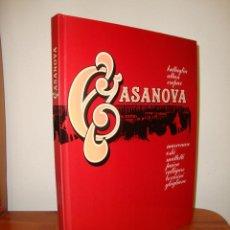Cómics: CASANOVA - BATTAGLIA, ALTAN, CREPAX, MARCENARO, OSKI, MATTOTTI - LUMEN, MUY BUEN ESTADO. Lote 278183408