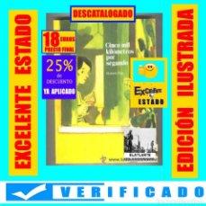 Comics: CINCO MIL KILÓMETROS POR SEGUNDO - FIOR, MANUELE - SINSENTIDO - 2011 - EXCELENTE ESTADO. Lote 276258338