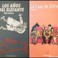 Cómics: NOVELAS GRÁFICAS (LOTE DE 2). Lote 278208788
