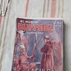 Cómics: EL NUEVO BUFFALO ILUSTRADO Nº 24: LA CULPA DE FRAY ANTONIO; EDITORIAL GUERRI. Lote 278234283