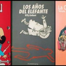 Cómics: NOVELAS GRÁFICAS (LOTE DE 3). Lote 278329943