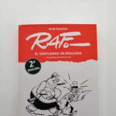 Fumetti: LIBRO BIOGRÁFICO DE RAF EL GENTLEMAN DE BRUGUERA. Lote 278366178