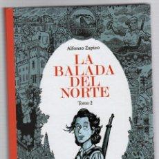 Fumetti: LA BALADA DEL NORTE. TOMO 2. ALFONSO ZAPICO. ASTIBERRI 2017 1ª EDICION. Lote 278366468